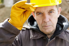 Wise construction royalty free stock images