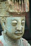 Wise Guy. Antique statue of a wise looking man, Hong Kong Stock Photography