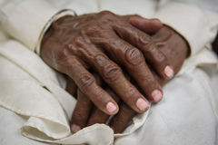 Wise hands Stock Images