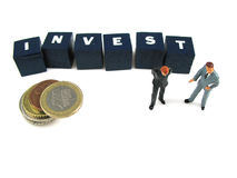 Wise investments Stock Photo