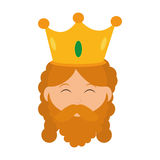 Wise man icon. Merry Christmas design. Vector graphic Royalty Free Stock Photo