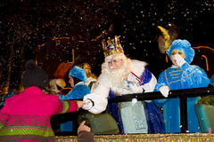 Wise men parade Stock Images