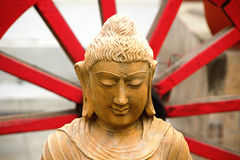 Wise and Serene Face of Buddha Royalty Free Stock Images