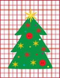 Wish Christmas tree Royalty Free Stock Image