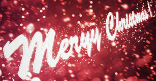 Wish everyone happy new year and merry christmas Stock Images