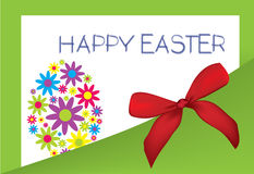 Wish happy easter Stock Images