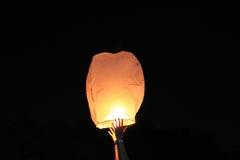 Wish lantern Stock Photo