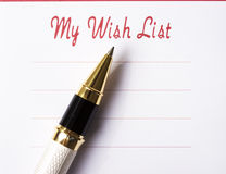 Free Wish List Stock Photo - 2863080