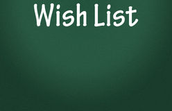Wish list symbol Stock Photography