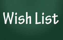 Wish list symbol Royalty Free Stock Photo