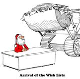 Wish Lists Royalty Free Stock Images