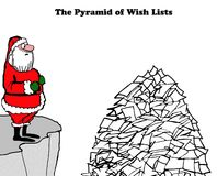 Wish Lists Royalty Free Stock Photo