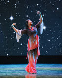 Wish upon a star-Folk dance Royalty Free Stock Images