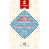 We wish you Merry Christmas text and geometric frame border and snowflakes. Merry Christmas and New Year abstract background. We wish you Merry Christmas text Royalty Free Stock Photos