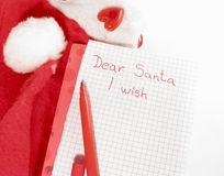 Wishes for Christmas Royalty Free Stock Photos