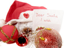 Wishes for Christmas Stock Photography