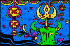 Wishes for Durga Puja Royalty Free Stock Image