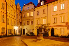 The wishing Bell in Warsaw, Poland royalty free stock photo