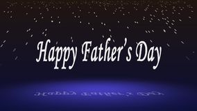 Wishing happy father`s day clip stock illustration