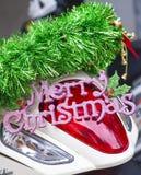 Wishing a Merry Christmas Stock Image
