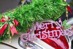 Wishing a Merry Christmas Royalty Free Stock Image