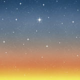 wishing star starry night sky  Stock Photography