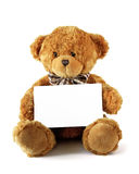 Wishing Teddy Bear Stock Photo