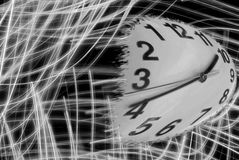 Wishing time flew backward Stock Photos