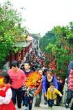 Wishing wall in Jin Tai Temple Royalty Free Stock Photography