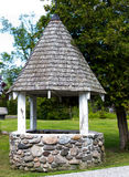 Wishing water well. Wishes can come true for those at the Wishing Well Royalty Free Stock Photo