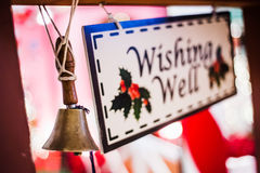 Wishing well bell Stock Photos