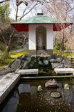 Wishing well at temple in Kyoto Royalty Free Stock Photography
