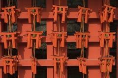 Wishing Wooden Torii in Japan. Wishing Wooden Torii at Fushimi Inari Taisha Shrine, Kyoto, Japan Stock Photo