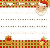 Wishlist de Noël Photos libres de droits