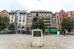 Wiske door Carla Kamphuis-Meijer monument in Antwerp, Belgium Royalty Free Stock Photos