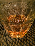 Wiskey in the glass Royalty Free Stock Images