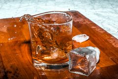 Wiskey or tea royalty free stock images