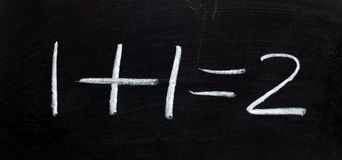 Wiskunde bij zijn beste Stock Fotografie