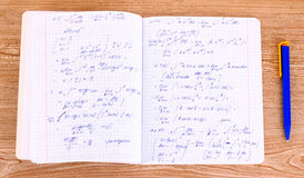 Wiskundige berekening Royalty-vrije Stock Afbeeldingen