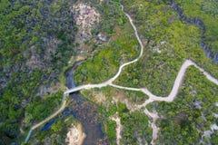 Wiskybaai, het Voorgebergte van Wilson ` s, Australië Royalty-vrije Stock Foto
