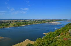 Wisla ποταμός Πολωνία Στοκ φωτογραφίες με δικαίωμα ελεύθερης χρήσης