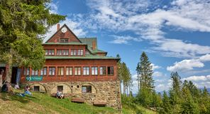 Free WISLA-GLEBCE, POLAND - AUGUST 11, 2019: Mountain Hut On Mount St Stock Photos - 156888983