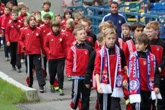 Wisla Krakow young players Stock Image