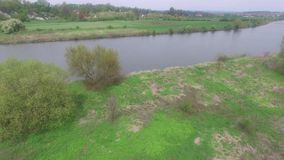 Wisla river stock footage