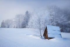 Wisla Soszow, skihelling Royalty-vrije Stock Afbeelding