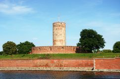 Wisloujscie citadel in Gdansk, Poland Stock Photography