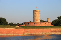 Wisloujscie Fortress Stock Photo