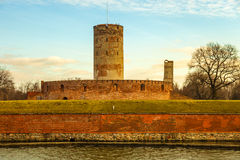 The Wisloujscie Fortress Stock Image