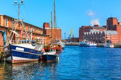 Wismar, Γερμανία Στοκ εικόνα με δικαίωμα ελεύθερης χρήσης