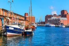 Wismar, Alemanha Imagem de Stock Royalty Free